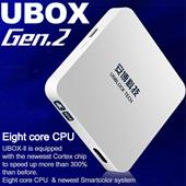 UNBLOCK Tech TV BOX Ubox Gen2 S800_Plus Hong Kong version for Global 1000+ Free Channels