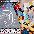 ★Free gift Event[5+1 / 10+2 / 20+4 ]Korean Best selling socks updated! MADE IN KOREA SOCKS WOMEN fashion man men kid kids socks / GIRL / /LOAFER / halloween / invisible Intype socks