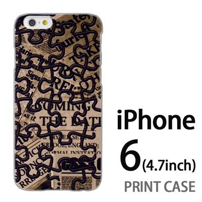 iPhone6 (4.7インチ) 用『No4 ジグソーパズル』特殊印刷ケース【 iphone6 iphone アイフォン アイフォン6 au docomo softbank Apple ケース プリント カバー スマホケース スマホカバー 】の画像