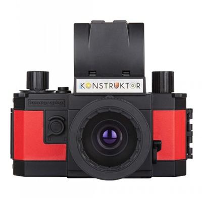 HP135SLR Lomography Konstructor DIY Kitプラモデル式一眼レフカメラ コンストラクター【レビューを書いて送料無料/35mmフィルム1本プレゼント】DIY プラモデルカメラ 一眼レフ 夏休み 自由研究 工作 プレゼント 贈り物の画像