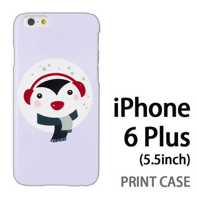 iPhone6 Plus (5.5インチ) 用『1221 ペンギン 水』特殊印刷ケース【 iphone6 plus iphone アイフォン アイフォン6 プラス au docomo softbank Apple ケース プリント カバー スマホケース スマホカバー 】の画像