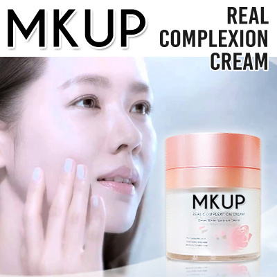 LOWEST PRICE! MKUP Real Complexion Cream and MKUP Product Series / Eyeliner /Lip Pen / Concealer Deals for only S$49.9 instead of S$0