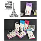 [Paris Botton]Korea Hit Women`s ID Cases and wallet /Lovely  long coin wallet/ Cute Cartoon Pattern / Smart multi purse / Korea style designer cute Wallets