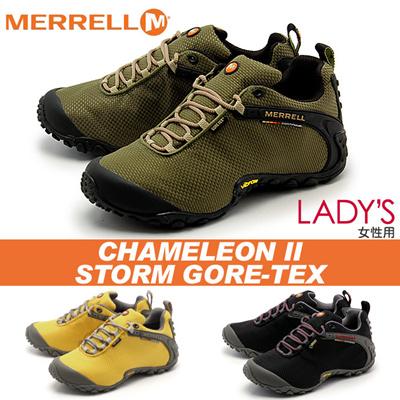 メレル カメレオン II ストーム ゴアテックス MERREL CHAMELEON 2 STORM GORE-TEX レディース シューズ アウトドアの画像