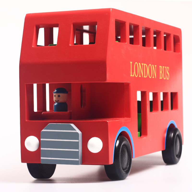 Imagination Wooden London Bus Wheels On The Bus SG