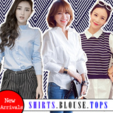NEW Ladies Blouse Shirts Tops (Sizes Available)