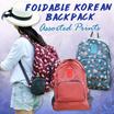 [Local Instock]★Korean Foldable Backpack★Assorted prints