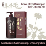 Red Ginseng Mo Shampoo 550ml for anti hair loss and scalp cleansing