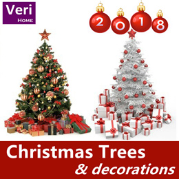 【Christmas trees! Decorations! Ornaments! LED lightings! 】Decor a most unique Xmas tree of your own!