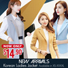 Buy 2 Free Shipping!*5/3 Update*New Style Plus Size (S-5XL)  Blazer Jacket Long Jacket Down Jacket