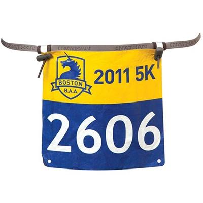 ネイサン(NATHAN) Race Number Belt B61388000 N.GREY 【トレイルランニング マラソン レースナンバー ゼッケン 超軽量】の画像