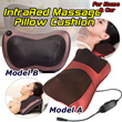 ★Mothers Day Gift★ Car/Home INFRARED LIGHT body massager pillow cushion/INFRARED HEATING! Electric Massage Cushion/ 4 Massage Rollers / Thermo Infrared / Relax Tense Muscles