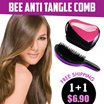 Bundle Promo!! 1 + 1 ONLY $6.90!!! Magic comb Hair Comb / TANGLE-FREE COMB /Bee tangler free Comb / Anti tangle comb / bee detangle comb / Bee Extend Comb [SCMK]