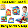 ★FREE SHIPPING BEST DEAL★Premium Cloth Books Soft Toy Story★Jigsaw Flash Cards★Baby Education Shower Birthday Xmas Gift★Activity Play Mat★Children*Educational