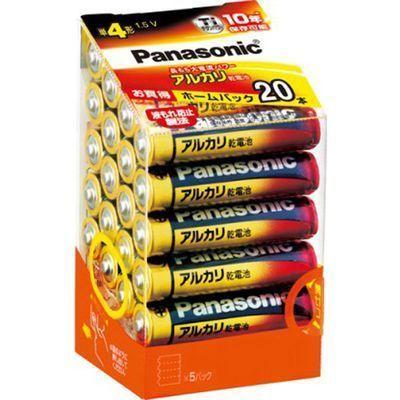 パナソニックパナソニックアルカリ乾電池単4形20本ホームパックLR03XJ/20SHE411672H