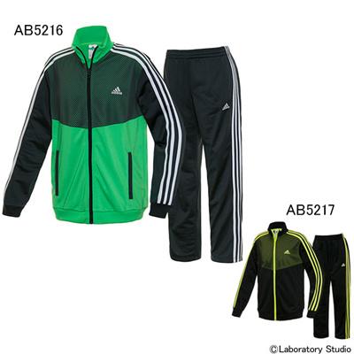 アディダス (adidas) KIDS TCOS ジャージスーツ2 AAW96 [分類:ジャージ 上下セット (ジュニア)] 送料無料の画像