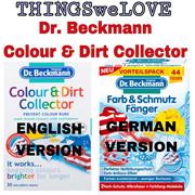 Dr Beckmann Colour Dirt Collector Catcher 28s/44s Washing Machine Cleaner Fridge Deodorizer