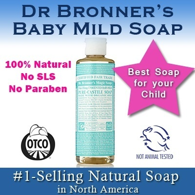 qoo10 dr bronners organic baby mild soap 473ml and 946ml 100 natural maternity baby. Black Bedroom Furniture Sets. Home Design Ideas