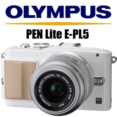 qoo10 super sale limited quantities olympus pen lite e pl5 lens kit digital tv camera. Black Bedroom Furniture Sets. Home Design Ideas