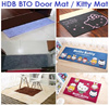 HDB BTO Floor Mat Carpet ★Hello Kitty Rug / Door Entrance Water Absorption Carpet Flooring Tiles