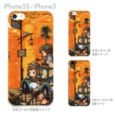【SWEET ROCK TOWN】【iPhone5S】【iPhone5】【iPhone5sケース】【iPhone5ケース】【カバー】【スマホケース】【クリアケース】【アート】 46-ip5s-sh0012の画像