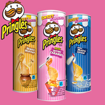 ◆ Pringles Limited Edition ◆ Honey butter chip / Honey butter almond / Butter Caramel / Sweet Mayo C