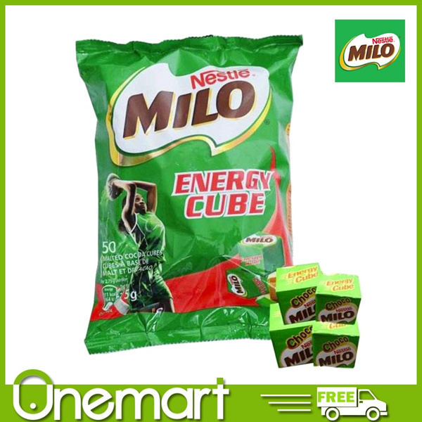 [MILO] Energy Cubes 50pcs Deals for only S$5.95 instead of S$0