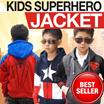 [KIDS JACKET PREMIUM QUALITY] ★Jaket Superhero★ [Captain America-Superman-Ironman] BEST SELLER