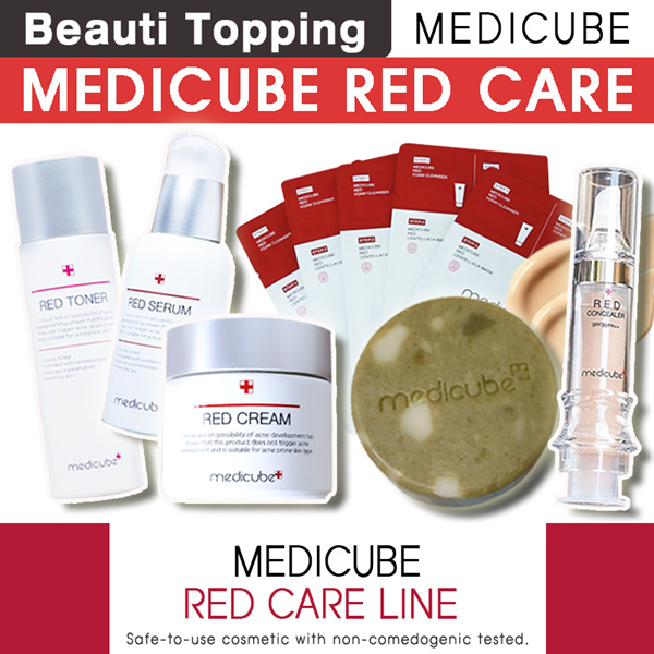 ?Qoo10 Lowest Price?MEDICUBE?Red Body Bar(Soap)/Concealer/Cushion/Zero Pore Pad Deals for only S$44 instead of S$0