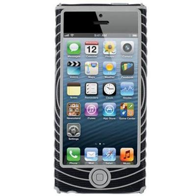 ネイサン(NATHAN) SonicGrip for iPhone 5 B11462000 BLACK/SILVER 【ランニング ジョギング アクセサリー スマホ ケースカバー】の画像