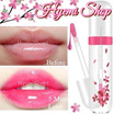 [HYEMI SHOP]♥MAGIC SAKURA LIP GLOSS♥ Pinkish Nipples. LongLasting Colour Change Gloss Turns Lip To Pinkish. Body Temperature Changes Colour. Anti-Crack. Lip Tint. Lip Balm. Moisture Sexy Kissable! 7g