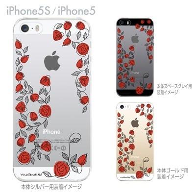 【iPhone5S】【iPhone5】【Vuodenaika】【iPhone5ケース】【カバー】【スマホケース】【クリアケース】【フラワー】 21-ip5s-ne0051の画像