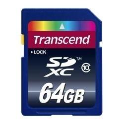 メル便送料無料正規国内販売代理店トランセンドSDXC64GBカドTS64GSDXC10
