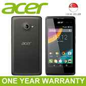 Acer Liquid Z220 3G Dual SIM Dual Core 1.2GHz / Android Lollipop / 5 Megapixel Camera / 8GB ROM / 1GB RAM / 1 Year Acer Singapore Warranty