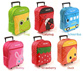 Linda Linda Kids Rolling Trolley School Bags Backpack for Kid Child Travel Bag Cabin Luggage Suitcase Large Storage Space Gift Idea