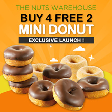 ★BUY 4 + 2 FREE ★ MINI COATED DONUTS !  【Soft and Delicious!!! 】