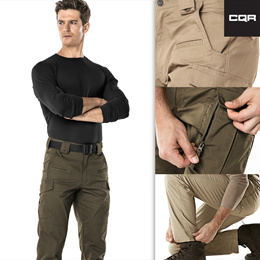 ★CQR MENS TACTICAL PANTS★ Work Rip-Stop Cargo Long pants Utility Operator Pants
