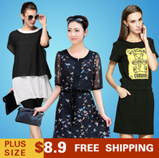 (The latest update)Big yards/With short sleeves/sleeveless/shirt/dress