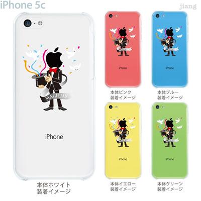 【iPhone5c】【iPhone5c ケース】【iPhone5c カバー】【ケース】【カバー】【スマホケース】【クリアケース】【クリアーアーツ】【Clear Arts】【マジシャン】 10-ip5c-ca110の画像