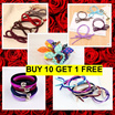 (BUY 10 GET 1 FREE)RESTOCK Hair accessories/bunny ear hair band / hair ties / hair clips / fashion accessories on sale.