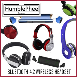 Bluetooth 4.2 Headset True Wireless Mini Twin Earpiece Sports Earphone Headphones Iphone Android