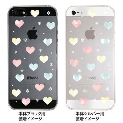 【iPhone5S】【iPhone5】【Clear Fashion】【iPhone5ケース】【カバー】【スマホケース】【クリアケース】【ハート】 09-ip5-he0002の画像