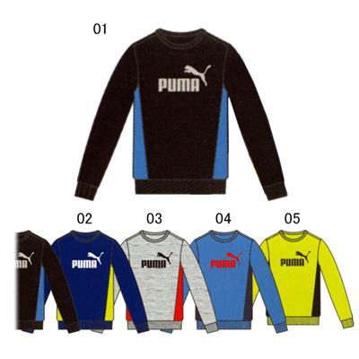 プーマ (PUMA) ジュニア FD クルースウェット 920168 [分類:スウエットシャツ・トレーナー (ジュニア)]の画像