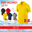 ★ DRI FIT POLO ★ NEW ARRIVALS/ BEST BUY/ GOOD QUALITY/ FREE SHIPPING/ Wholesale/ DRI FIT/ DRY FIT/ Men/ Women/ Size XS-XL/ SPORT/ COOL MESH/ QUICK DRY/ SPORT WEAR