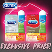 [RB]【RESTOCK】DUREX CONDOM - Condoms Pleasure Gels and Vibrator Rings for Better Foreplay