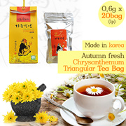 [ANDONG] Autumn fresh Chrysanthe mum Triangular tea bag / Nature-Friendly Premium Tea/Korea food/Burdock Tea/Green tea/Black Tea/Natural Ingredients/gb_005