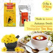 [ANDONG] Autumn fresh Chrysanthe mum Triangular tea bag / Nature-Friendly Premium Tea/Korea food/Burdock Tea/Green tea/Black Tea/Natural Ingredients/gb_005