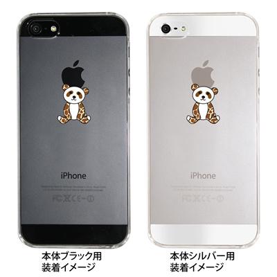 【iPhone5S】【iPhone5】【Clear Arts】【iPhone5ケース】【カバー】【スマホケース】【クリアケース】【パンダ】 22-ip5-ca0026の画像