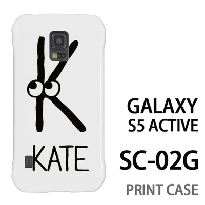 GALAXY S5 Active SC-02G 用『0623 「K」』特殊印刷ケース【 galaxy s5 active SC-02G sc02g SC02G galaxys5 ギャラクシー ギャラクシーs5 アクティブ docomo ケース プリント カバー スマホケース スマホカバー】の画像