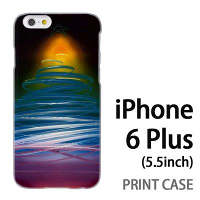 iPhone6 Plus (5.5インチ) 用『1222 ネオンツリー 黄』特殊印刷ケース【 iphone6 plus iphone アイフォン アイフォン6 プラス au docomo softbank Apple ケース プリント カバー スマホケース スマホカバー 】の画像